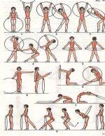 Гимнастика со скакалкой – для детей и взрослых » Упражнения для всех » Комплекс упражнений утренней гигиенической гимнастики со скакалкой
