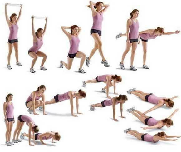 занятия фитнес дома для похудения для начинающих